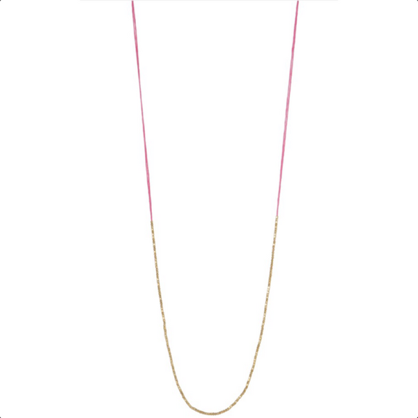 Lily Necklace Pink
