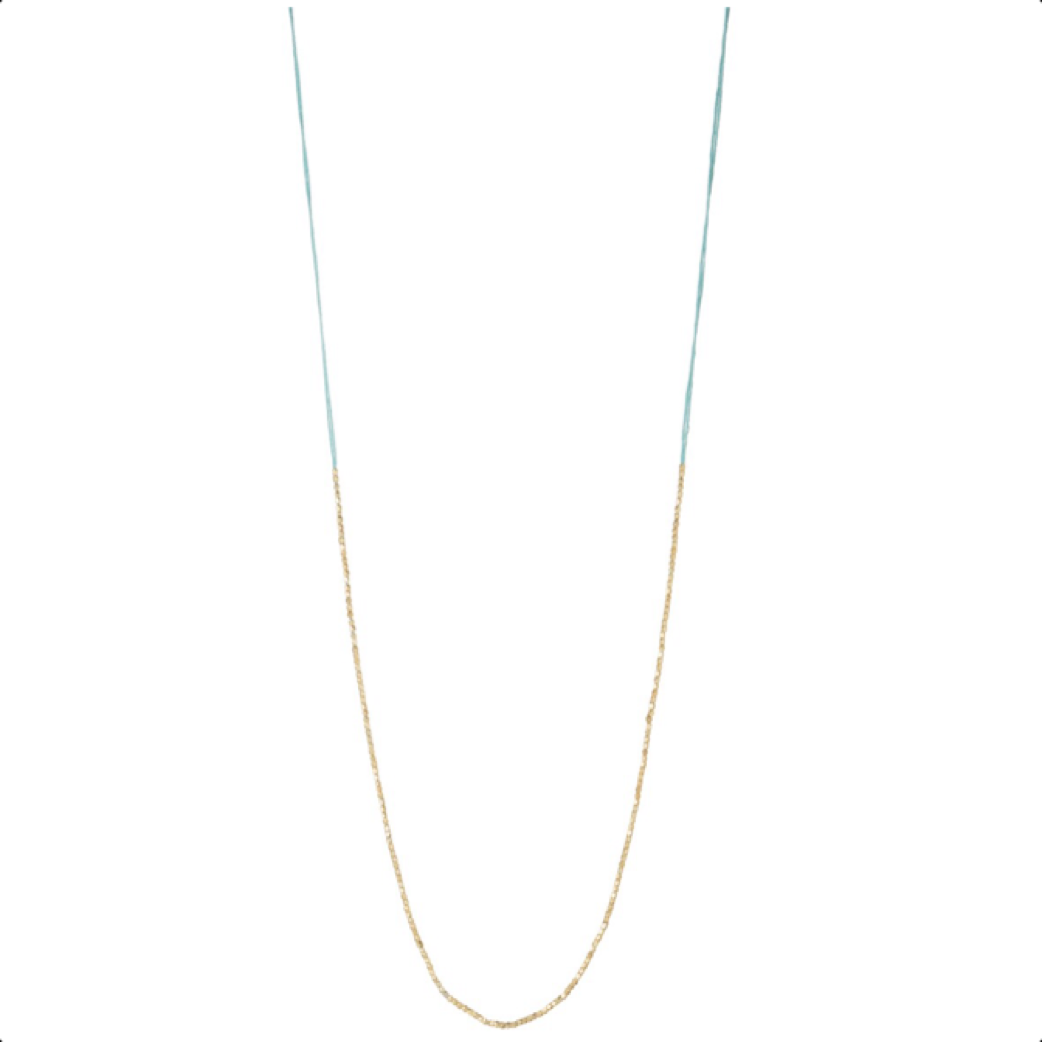 Lily Necklace Acqua