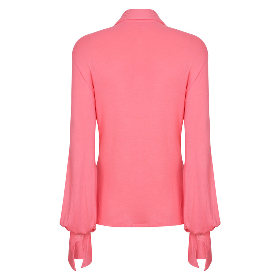 The West Village Pinktuck Shirt Pink