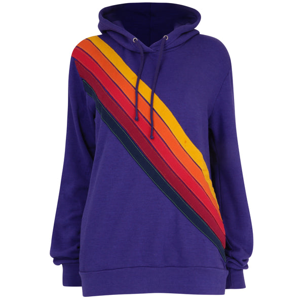 Cross Stripe Purple