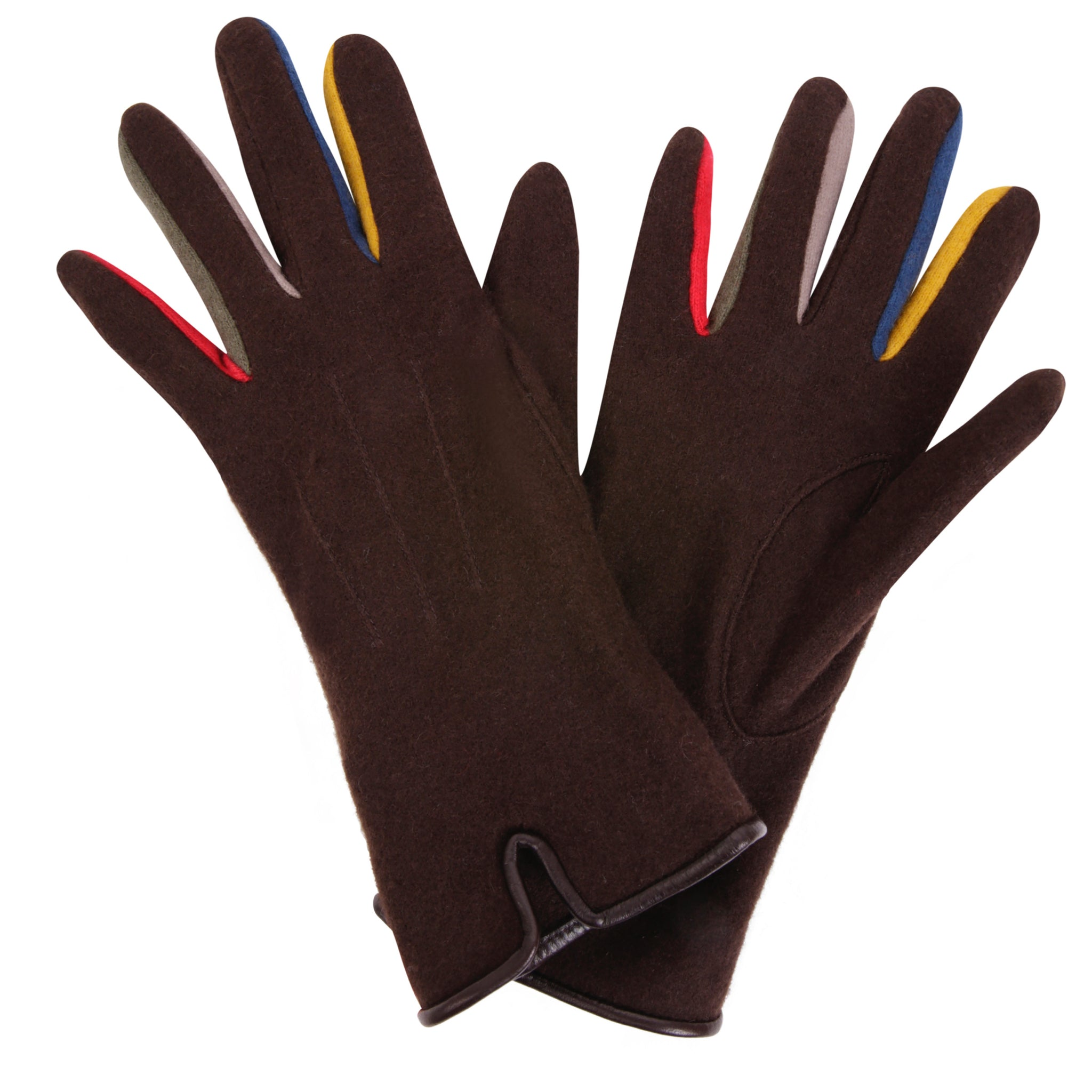 Bourget Black Gloves