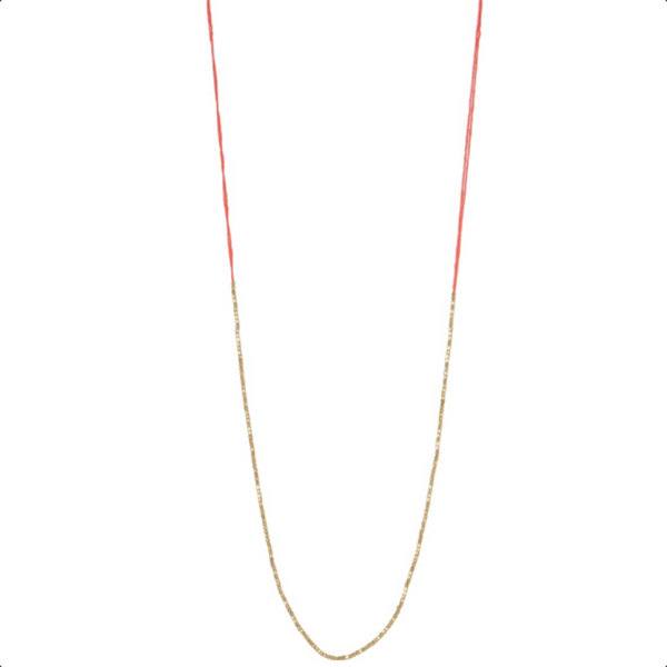 Lily Necklace Coral
