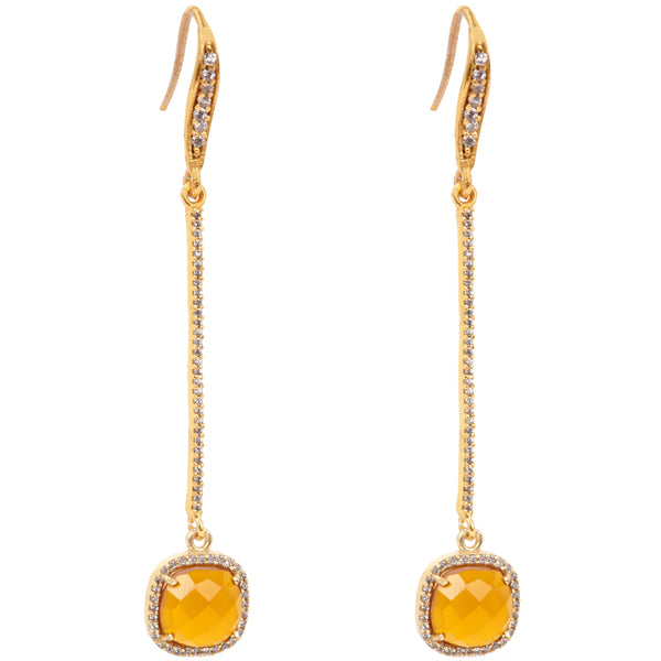 Dangle stone yellow