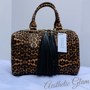Cheetah Overnight/Hand Bag