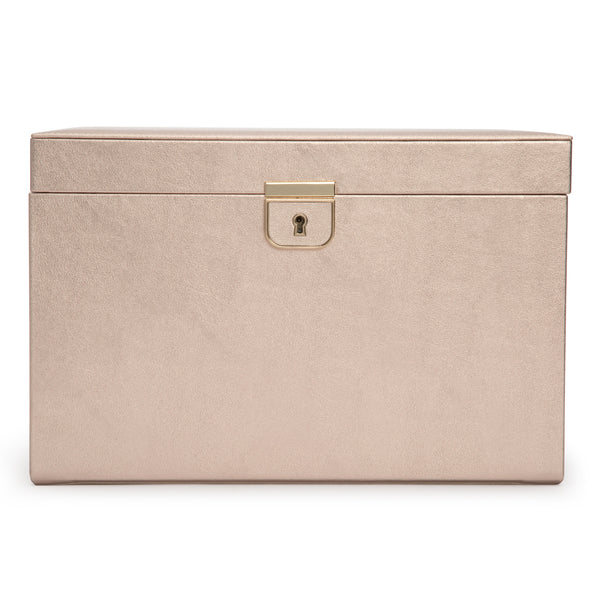 Wolf Rose Gold Palermo Large Jewellery Box 213016 - Hamilton & Lewis Jewellery