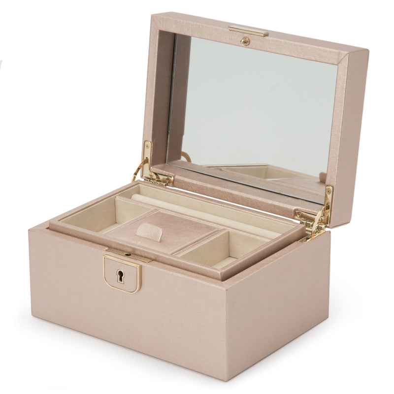 Wolf Rose Gold Palermo Small Jewellery Box 213116 - Hamilton & Lewis Jewellery