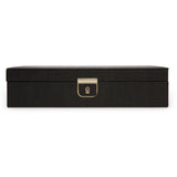 Wolf Black Palermo Medium Jewellery Box 213202 - Hamilton & Lewis Jewellery