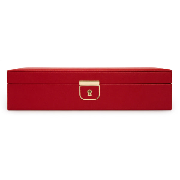 Wolf Red Palermo Medium Jewellery Box 213272 - Hamilton & Lewis Jewellery