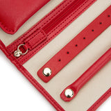 Wolf Red Palermo Jewellery Roll 213472 - Hamilton & Lewis Jewellery