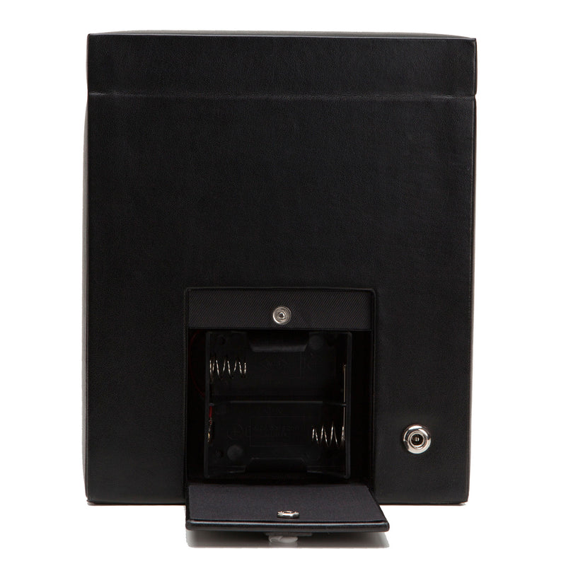 Wolf Single Black Heritage Winder with Storage 270302