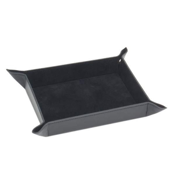 Wolf Heritage Black Leather Coin Tray 290002 - Hamilton & Lewis Jewellery