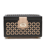 Wolf Black Chloe Small Jewellery Box 301102 - Hamilton & Lewis Jewellery
