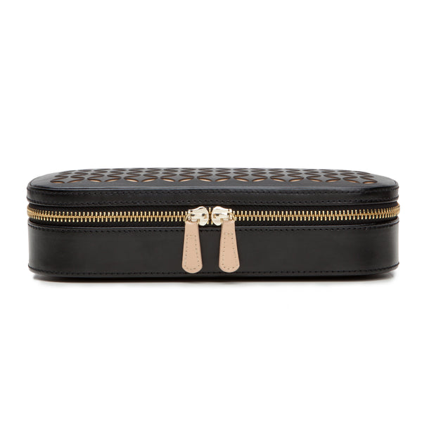 Wolf Black Chloe Jewellery Travel Case 301202 - Hamilton & Lewis Jewellery