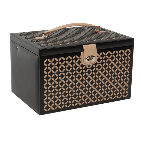 Wolf Black Chloe Large Jewellery Box 301502 - Hamilton & Lewis Jewellery
