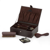 Wolf Blake Brown Shoe Shine Kit 305206 - Hamilton & Lewis Jewellery
