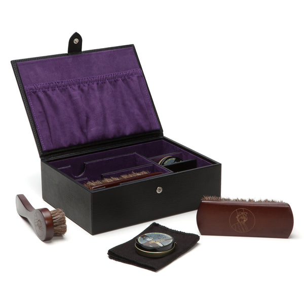 Wolf Blake Black Shoe Shine Kit 305228 - Hamilton & Lewis Jewellery