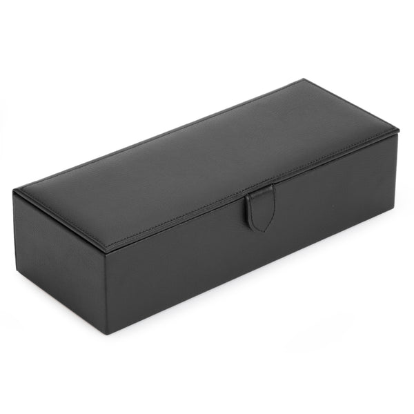 Wolf 5 Piece Black/Grey Blake Watch Box 305502