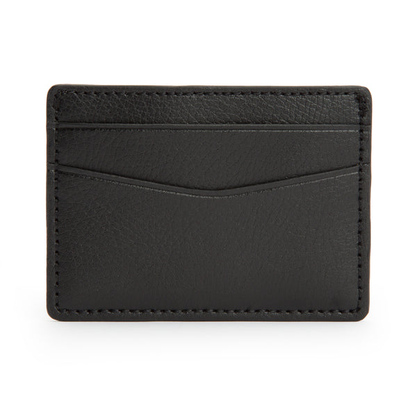 Wolf Blake Black Leather Card Wallet 306002 - Hamilton & Lewis Jewellery