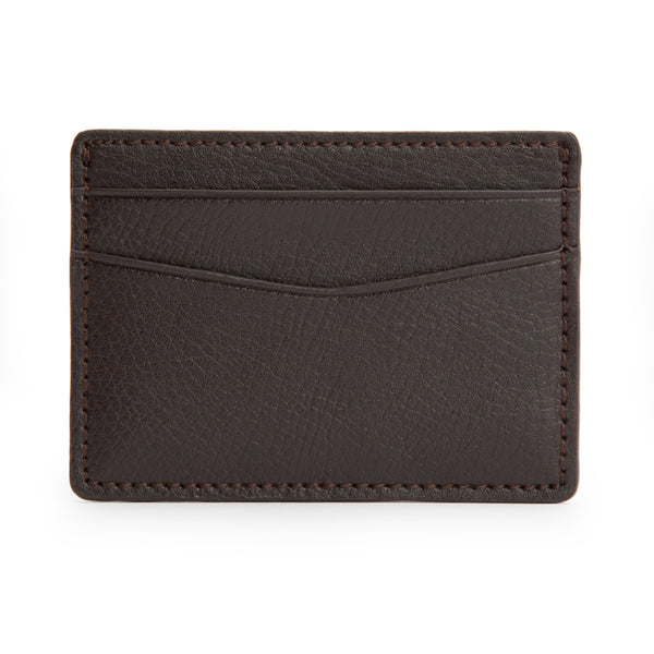 Wolf Blake Brown Leather Card Wallet 306006 - Hamilton & Lewis Jewellery
