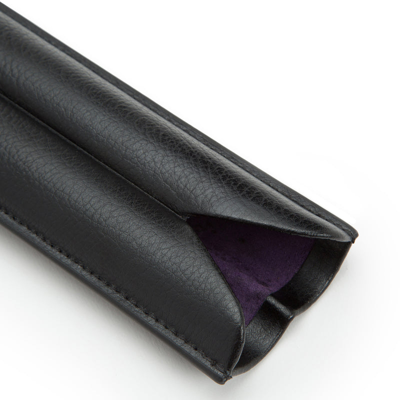 Wolf Blake Black/Purple 2 Piece Cigar Case 306528 - Hamilton & Lewis Jewellery