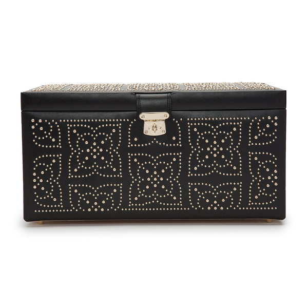 Wolf Black Marrakesh Large Jewellery Box 308202 - Hamilton & Lewis Jewellery