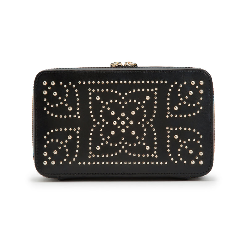Wolf Black Marrakesh Jewellery Zip Case 308602 - Hamilton & Lewis Jewellery