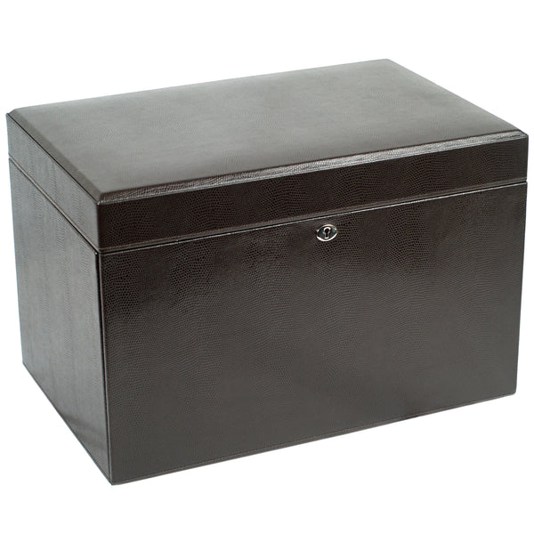 Wolf Cocoa London Large Jewellery Box 315006