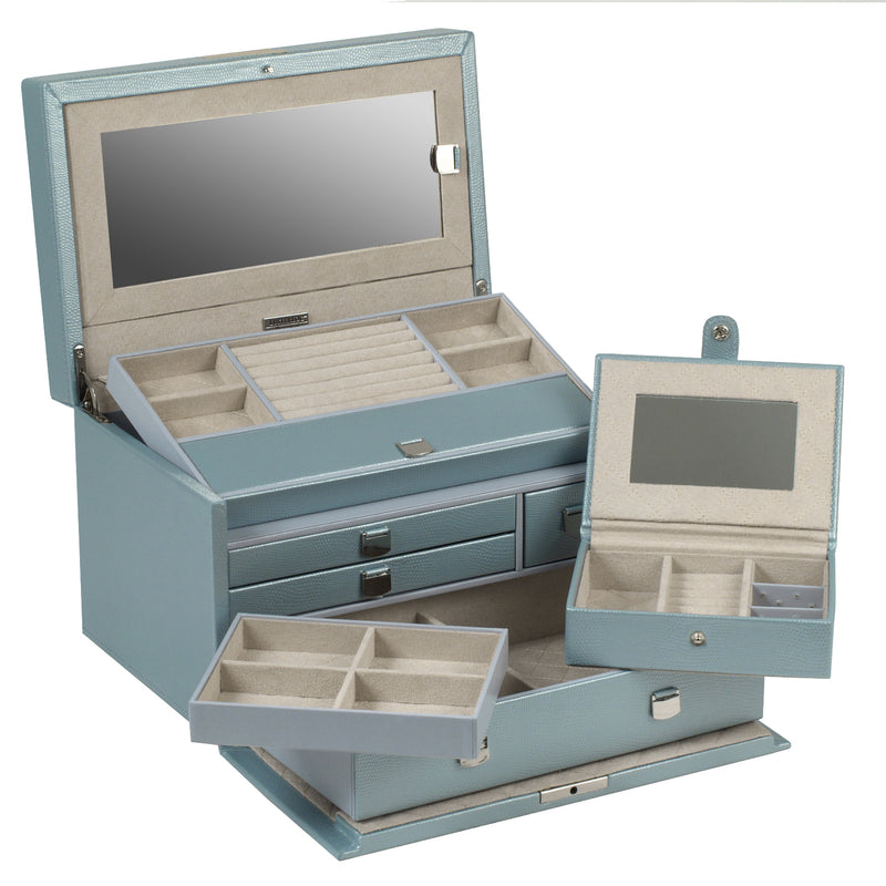 Wolf Ice London Medium Jewellery Box 315124 - Hamilton & Lewis Jewellery