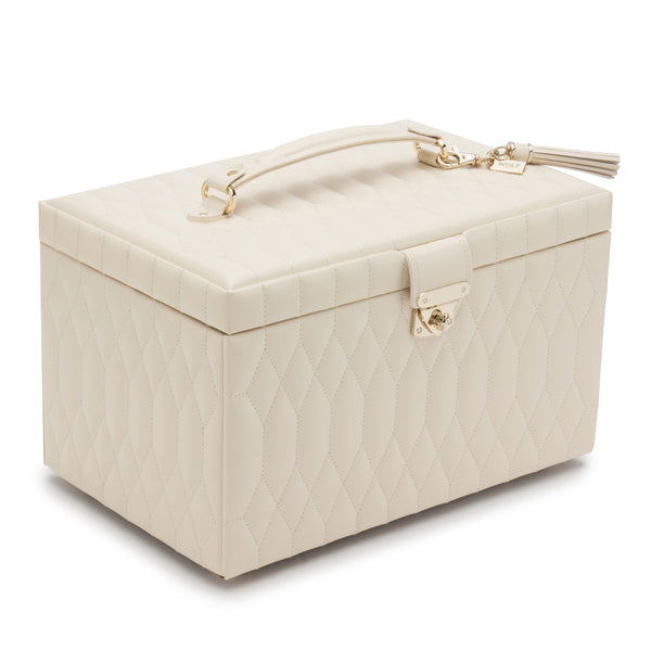 Wolf Ivory Caroline Large Jewellery Box 329653