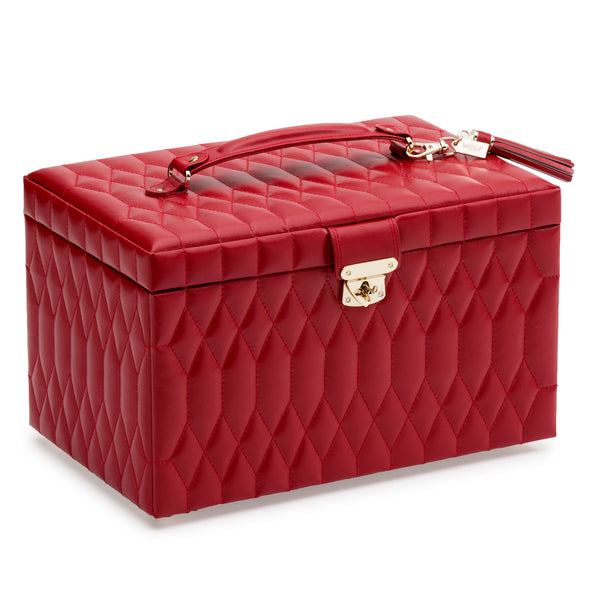 Wolf Red Caroline Large Jewellery Box 329672