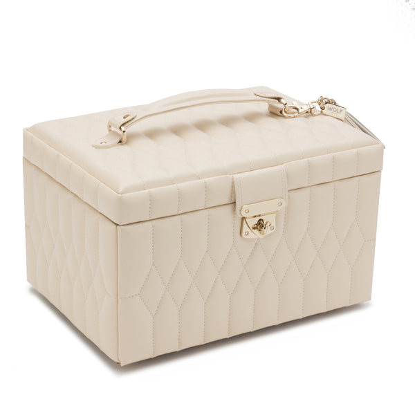 Wolf Ivory Caroline Medium Jewellery Box 329753 - Hamilton & Lewis Jewellery