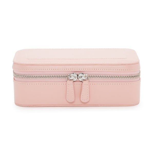 Wolf Rose Quartz Sophia Jewellery Zip Case 392215 - Hamilton & Lewis Jewellery