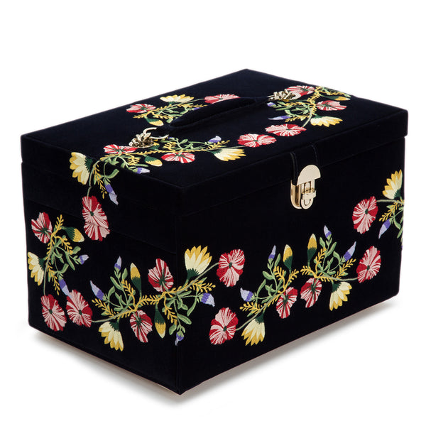 Wolf Indigo Zoe Large Jewellery Box 393016