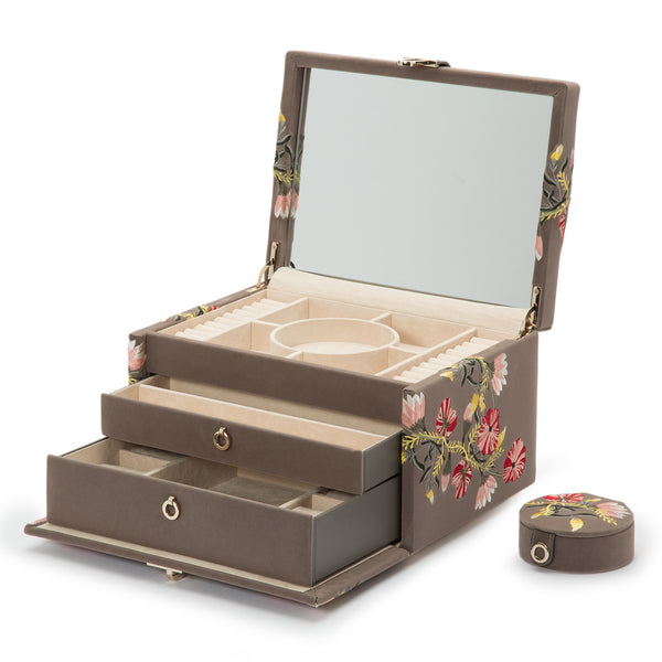Wolf Mink Zoe Medium Jewellery Box 393113 - Hamilton & Lewis Jewellery