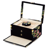 Wolf Indigo Zoe Medium Jewellery Box 393116 - Hamilton & Lewis Jewellery