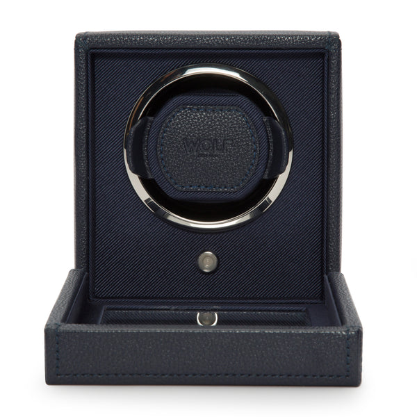 Wolf Single Navy Cub Winder with Cover 461117 - Hamilton & Lewis Jewellery
