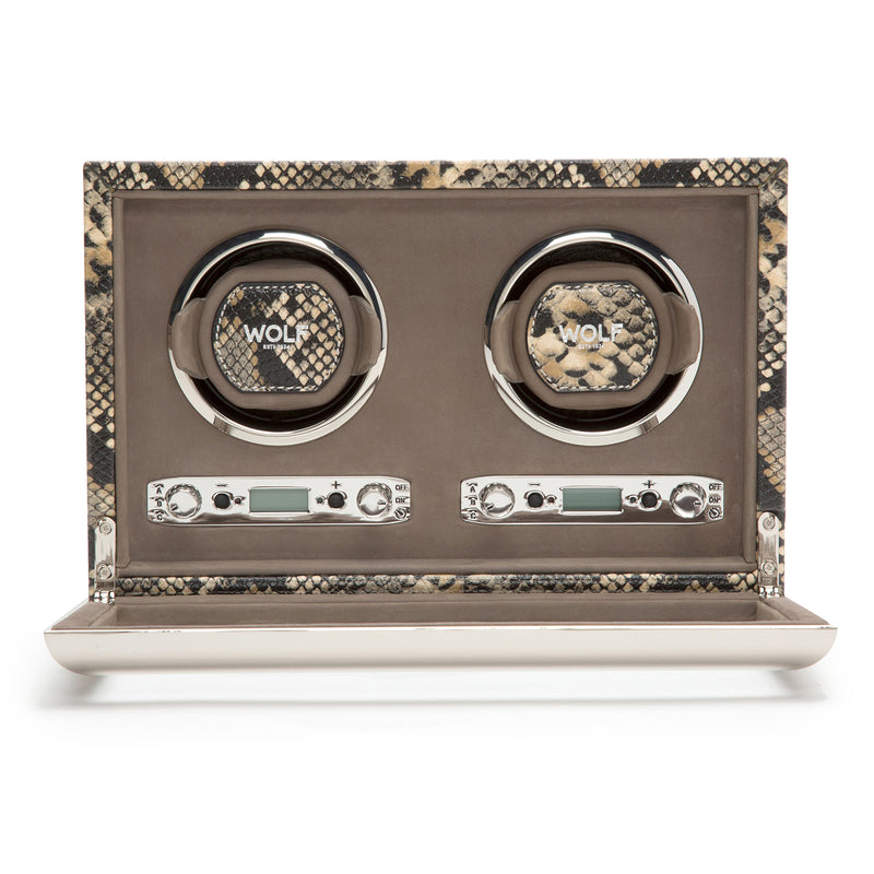 Wolf Double Tan Exotic Winder 461822