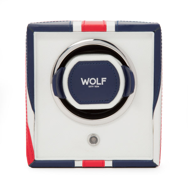 Wolf Single UK Flag Winder 462404 - Hamilton & Lewis Jewellery