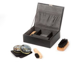 Wolf Howard Black Shoe Shine Kit 465303 - Hamilton & Lewis Jewellery