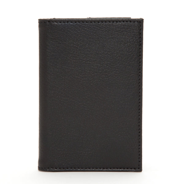 Wolf Howard Black Passport Holder 466503 - Hamilton & Lewis Jewellery