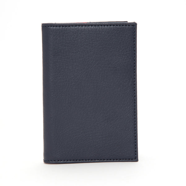 Wolf Howard Navy Passport Holder 466517 - Hamilton & Lewis Jewellery