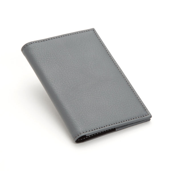 Wolf Howard Grey Passport Holder 466565 - Hamilton & Lewis Jewellery