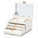 Wolf White Blossom Large Jewellery Box 467053 - Hamilton & Lewis Jewellery