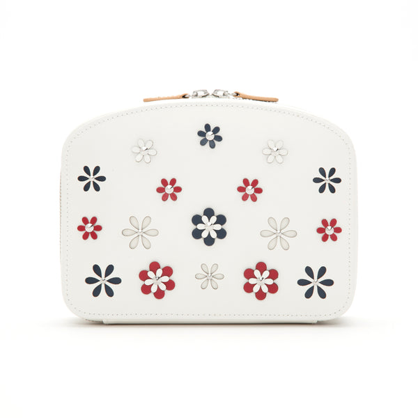 Wolf White Blossom Jewellery Travel Case 467353 - Hamilton & Lewis Jewellery