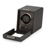 Wolf Single Black Axis Winder 469103 - Hamilton & Lewis Jewellery