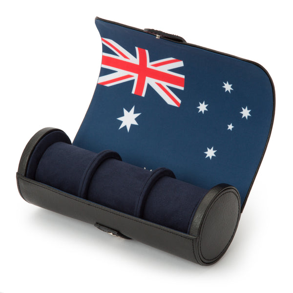 Wolf Triple Australia Flag Watch Roll 470004 - Hamilton & Lewis Jewellery