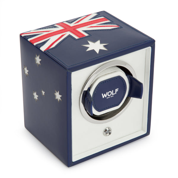 Wolf Single Australian Flag Winder 471104 - Hamilton & Lewis Jewellery