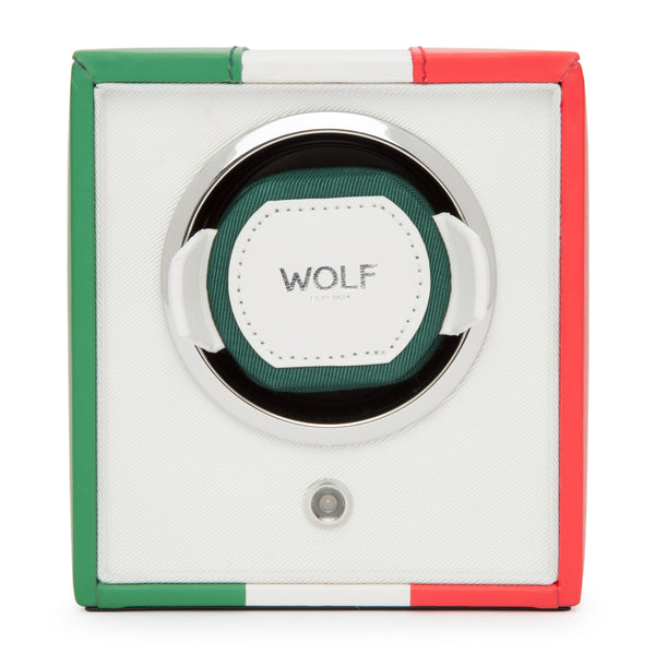 Wolf Single Italian Flag Winder 471504 - Hamilton & Lewis Jewellery