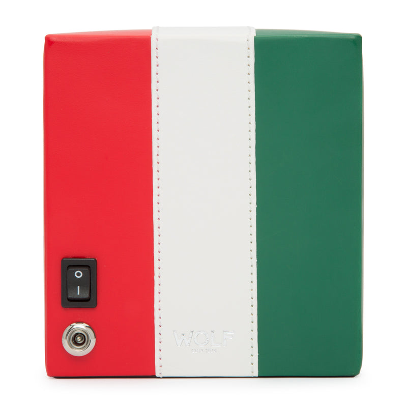 Wolf Single Mexican Flag Winder 471704 - Hamilton & Lewis Jewellery
