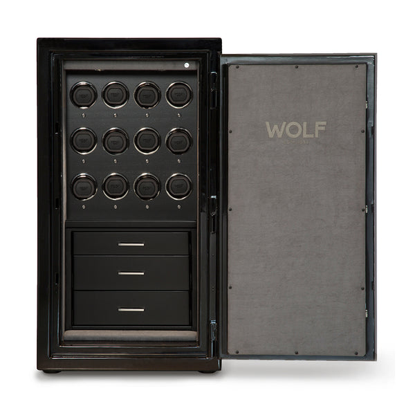Wolf Atlas 12 Piece Onyx Safe Winder 491264 - Hamilton & Lewis Jewellery